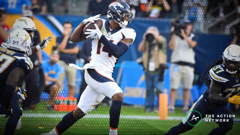 NFL Week 14 Fantasy WR Breakdown: It's Still Courtland Sutton SZN article feature image