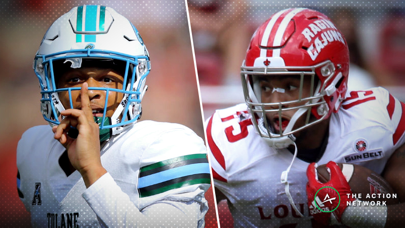 UL Lafayette-Tulane Betting Guide: Will Green Wave Offense Struggle in 2018 Cure Bowl? article feature image