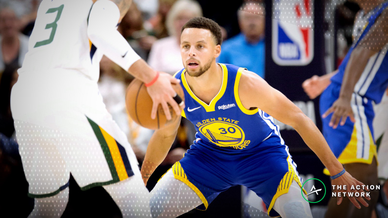 NBA Sharp Report: Pros Betting Warriors-Jazz, 2 Other Wednesday Games article feature image