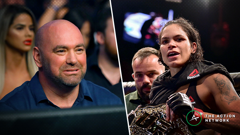 Rovell: Amanda Nunes' Greatness Doesn't Make Her Marketable — And Dana White Knows It article feature image