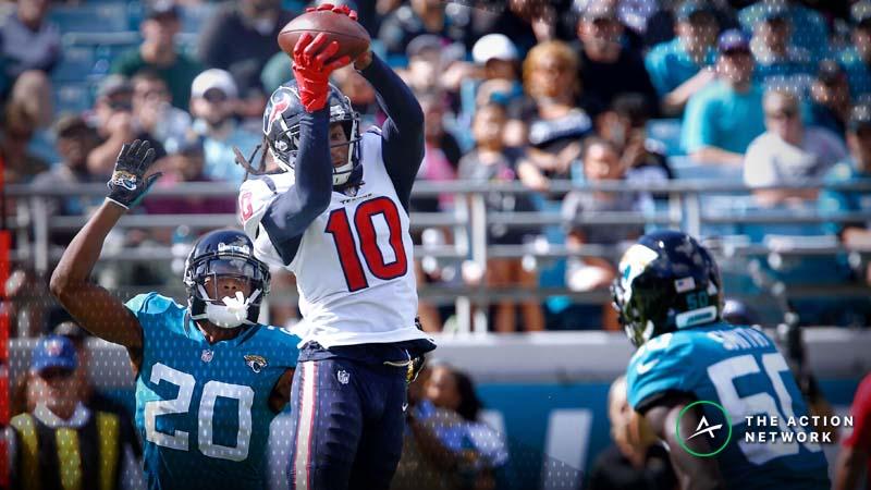 NFL Week 17 WR/CB Matchups: DeAndre Hopkins vs. Jalen Ramsey, More Shadow Dates article feature image