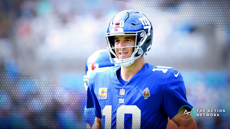 Titans-Giants Betting Preview: Nasty Weather Looms in the Meadowlands article feature image