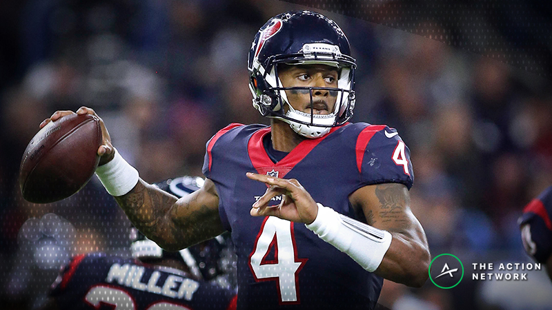Fantasy Football Start or Sit: Deshaun Watson Has High Upside in Week 14 article feature image