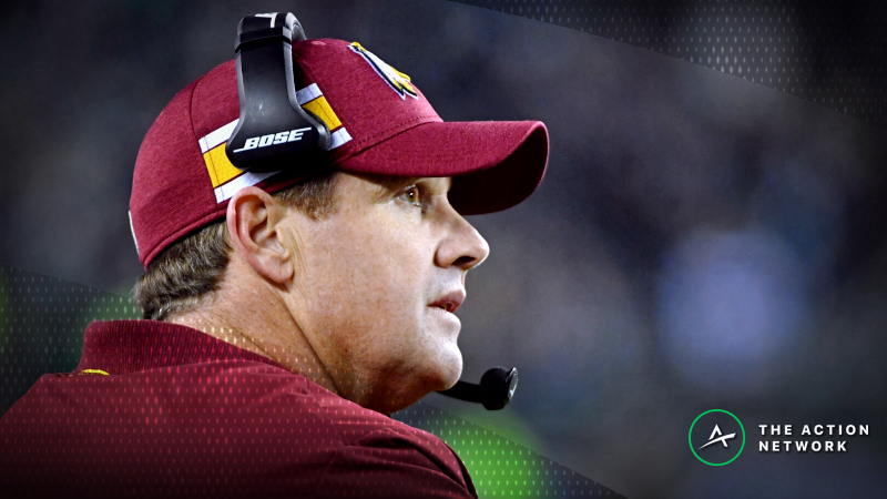 Redskins-Jaguars Opens with Lowest Over/Under Since 2012 article feature image