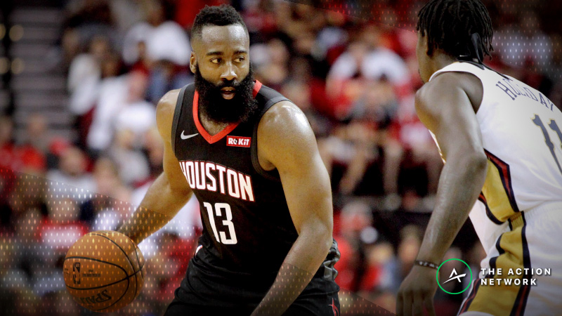 NBA Sharp Report: Wiseguys Doubling Down on Rockets-Pelicans Spread, Total article feature image