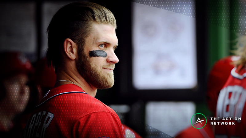 Updated Bryce Harper Free Agency Odds: Phillies Favored to Land Superstar Slugger article feature image