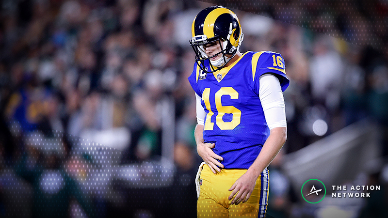 180K on the Moneyline?! How Rams Loss Cost Bettors Big article feature image