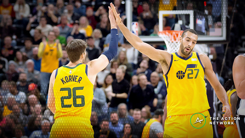 Rockets-Jazz Betting Odds: Sharp Money Has Point Spread on the Move article feature image