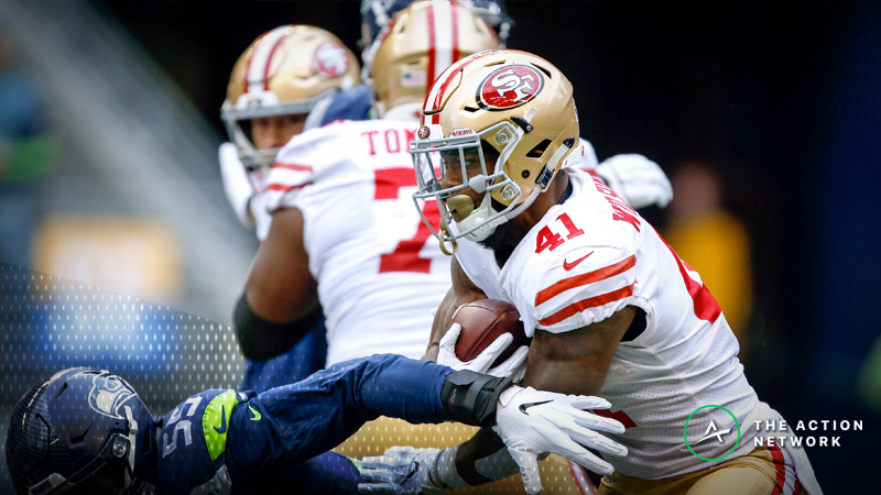 NFL Week 14 Fantasy RB Breakdown: Jeff Wilson, Yet Another Kyle Shanahan Back article feature image