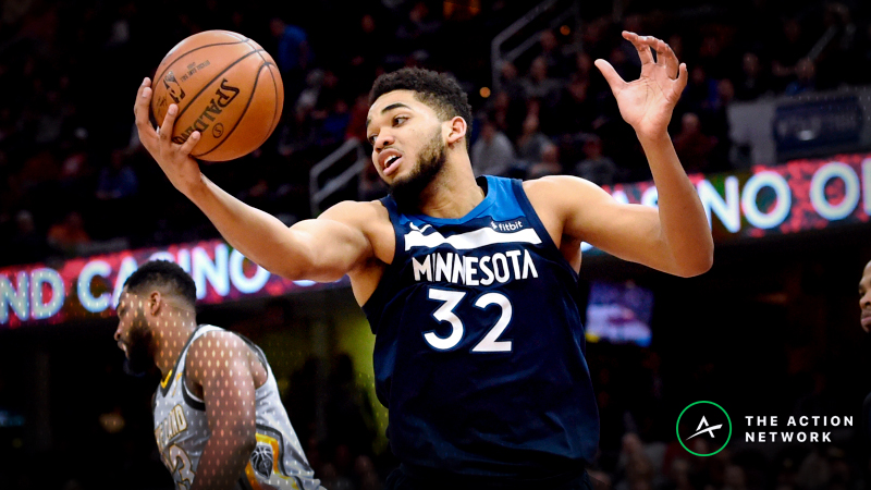 Wednesday's Best NBA Player Props: Betting Karl-Anthony Towns Rebounds, More article feature image