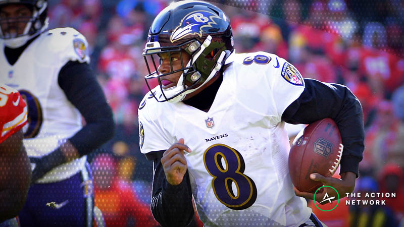 Buccaneers-Ravens Betting Preview: Can Lamar Jackson Exploit Tampa's Shaky Defense? article feature image