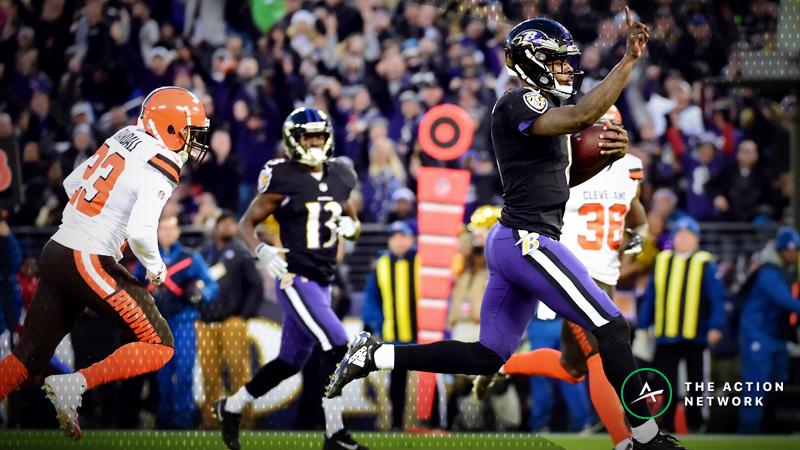 Top Fantasy Football Performers: Lamar Jackson, Josh Allen, More Week 17 Highlights article feature image