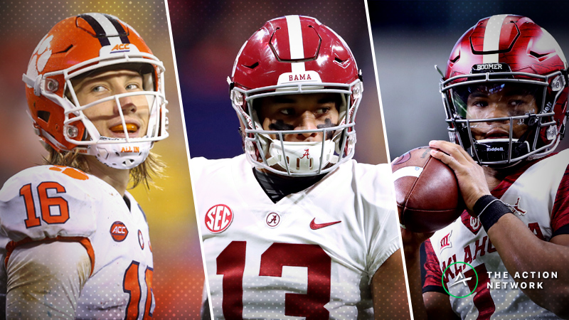Wilson: The College Football Playoff Bets I'm Making article feature image