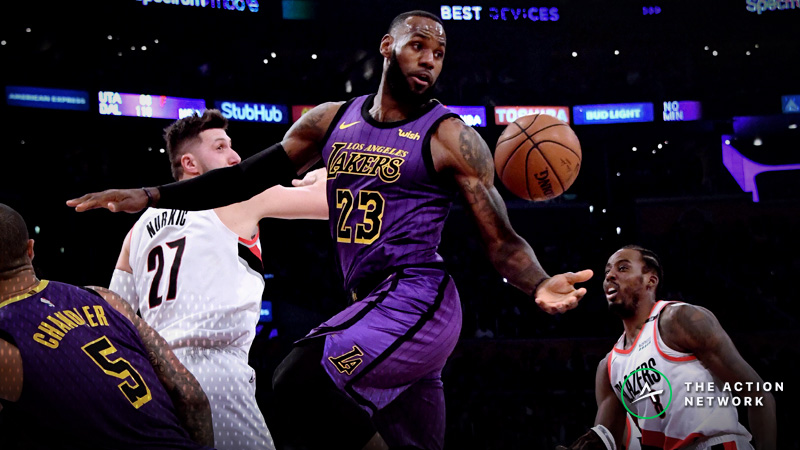 Friday's Best NBA Player Props: Betting LeBron James Assists, More article feature image