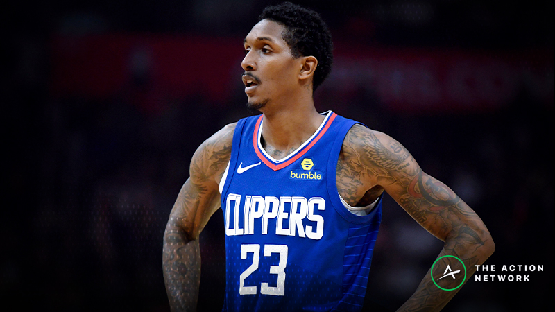 NBA Injury Report: Betting, DFS Impact of Lou Williams, Spurs Injuries article feature image