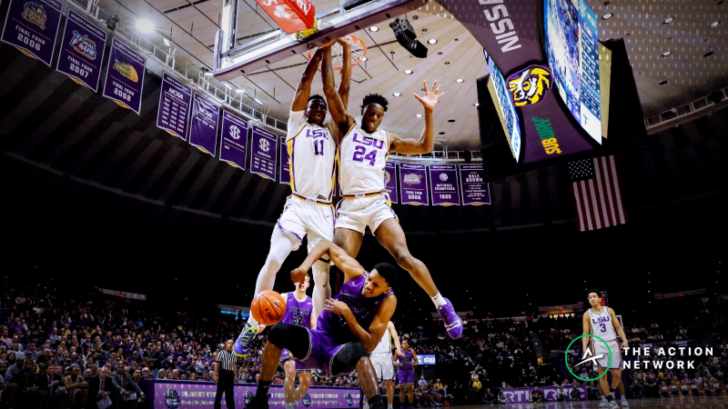 CBB Sharp Report: Pros Betting UL Monroe-LSU, 3 Other Friday Games article feature image