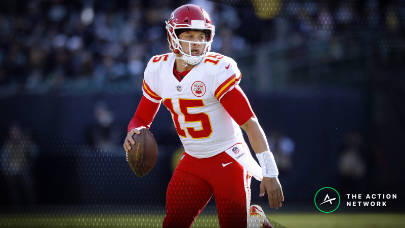 Updated NFL MVP Odds: Brees, Mahomes In Two-Horse Race Down the Stretch article feature image