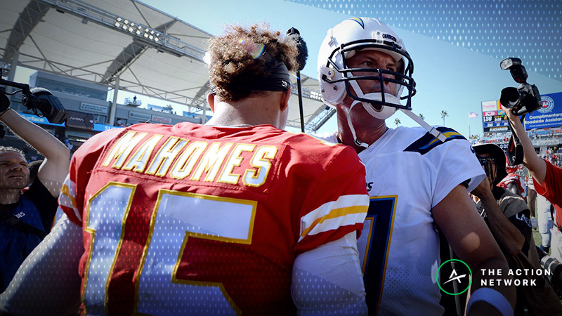 Chargers-Chiefs TNF Betting Preview: Will Rivers' Struggles vs. KC Continue? article feature image