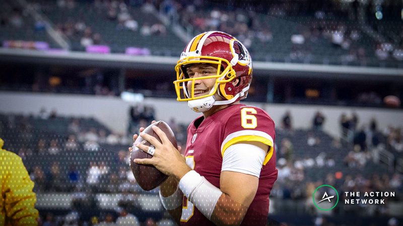 Giants-Redskins Betting Preview: Handicapping Mark Sanchez's First Start in 3 Years article feature image