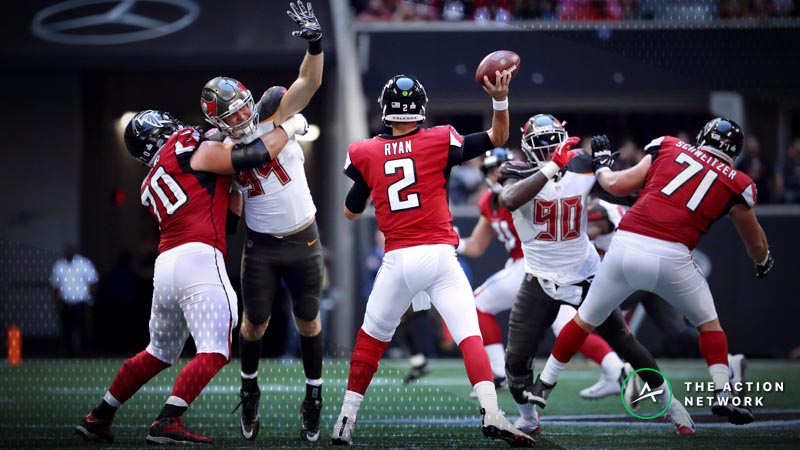 Falcons-Buccaneers Betting Preview: Buy Atlanta One Last Time? article feature image