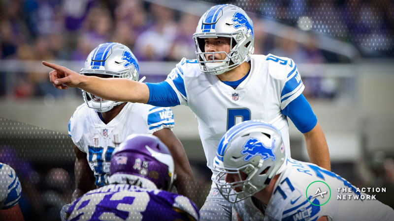 Vikings-Lions Betting Preview: Trust Minnesota to Keep Rolling vs. Stafford & Co.? article feature image