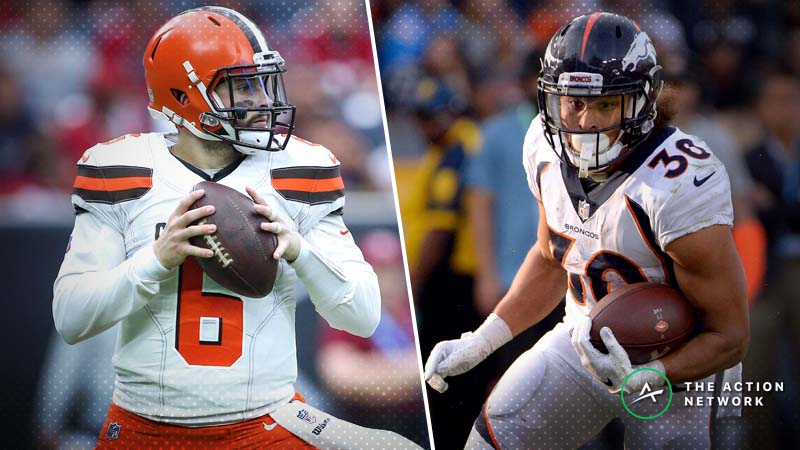Browns-Broncos Betting Preview: Will Denver's Ground Game Be the Difference? article feature image
