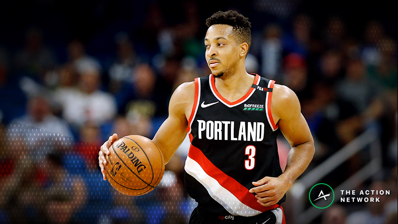 NBA Injury Report: Betting, DFS Impact of Devin Booker, CJ McCollum Injuries article feature image
