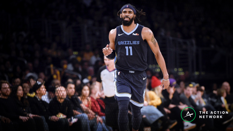 NBA Sharp Report: Pros Betting Grizzlies-Rockets, 2 Other New Year's Eve Games article feature image