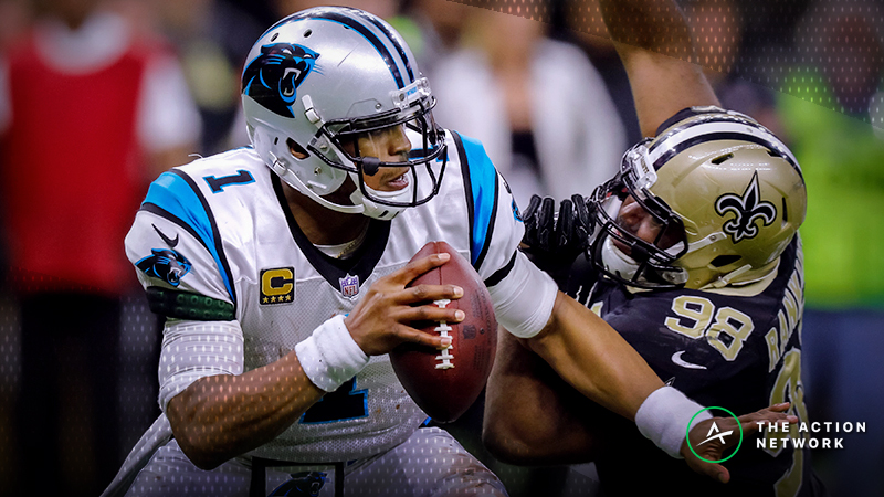Saints-Panthers Betting Odds: Tracking Monday Night Football Line Moves article feature image