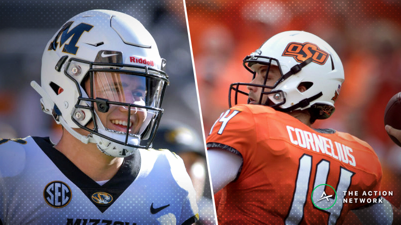 Missouri-Oklahoma State Betting Guide: Expect a Shootout in 2018 Liberty Bowl? article feature image