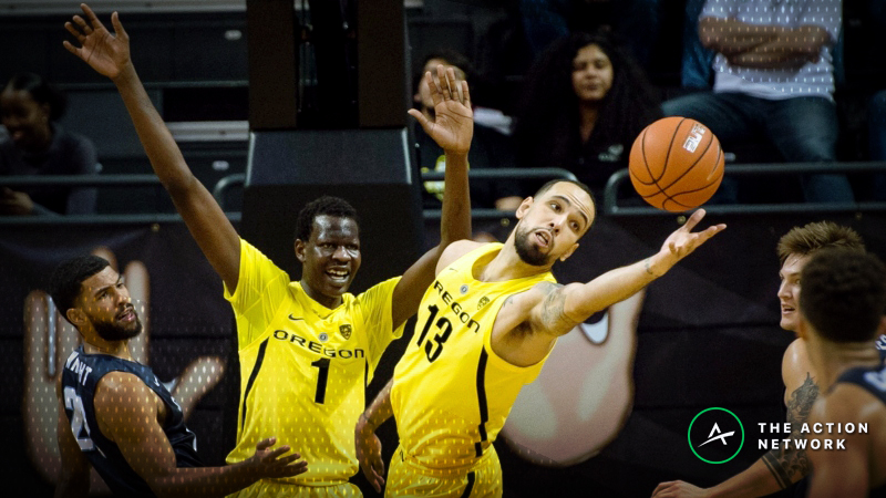 CBB Sharp Report: Pros Betting Oregon-Baylor, 3 Other Friday Games article feature image