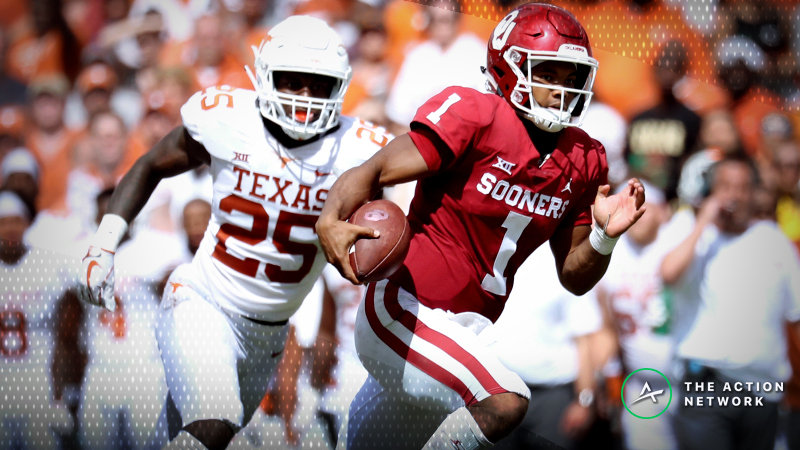 Late Sharp Action Hits Texas-Oklahoma Big 12 Championship Game article feature image