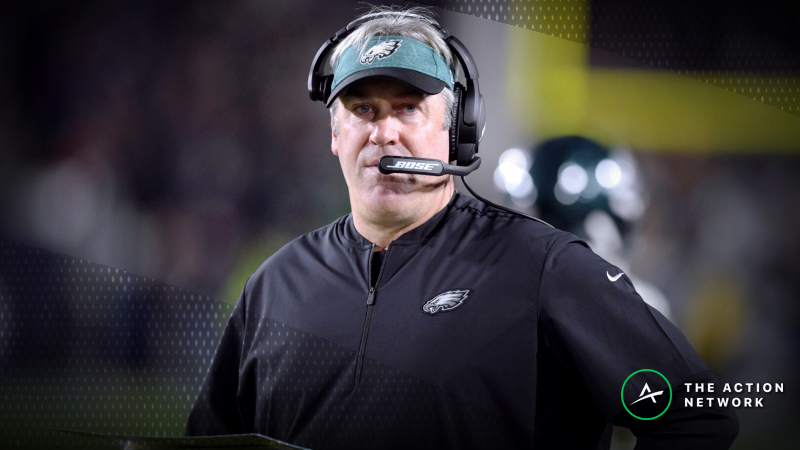 Week 17 Betting Market: Sharps Fading Eagles in Must-Win Affair article feature image
