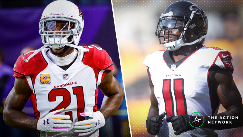 NFL Week 15 WR/CB Matchups: Can Patrick Peterson Slow Down Julio Jones? article feature image