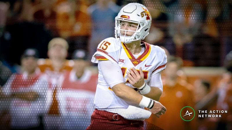 College Football Sharp Report: Pros Betting Auburn-Purdue, Iowa State-Washington State article feature image