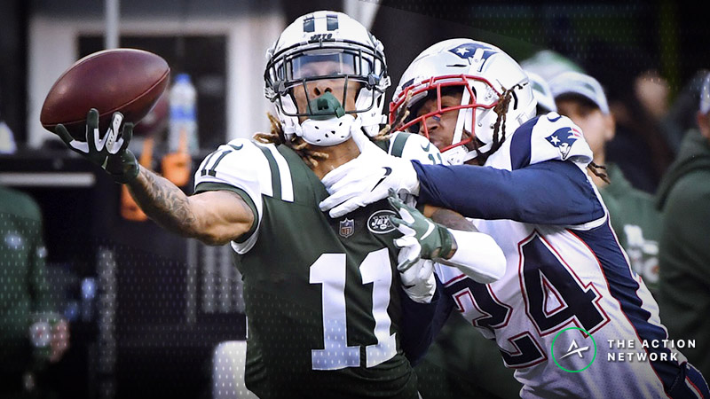 Jets-Patriots Betting Preview: Will New England Break 3-Game ATS Skid? article feature image