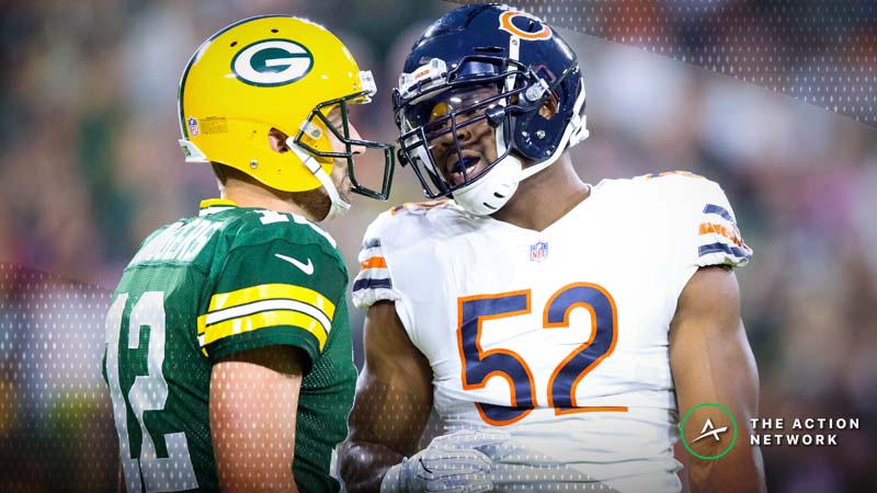 Packers-Bears Betting Preview: Will Rodgers Continue to Own Chicago? article feature image