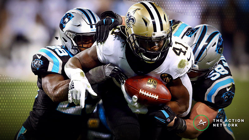 Panthers-Saints Betting Preview: Who Will Win the Battle of the Backups? article feature image