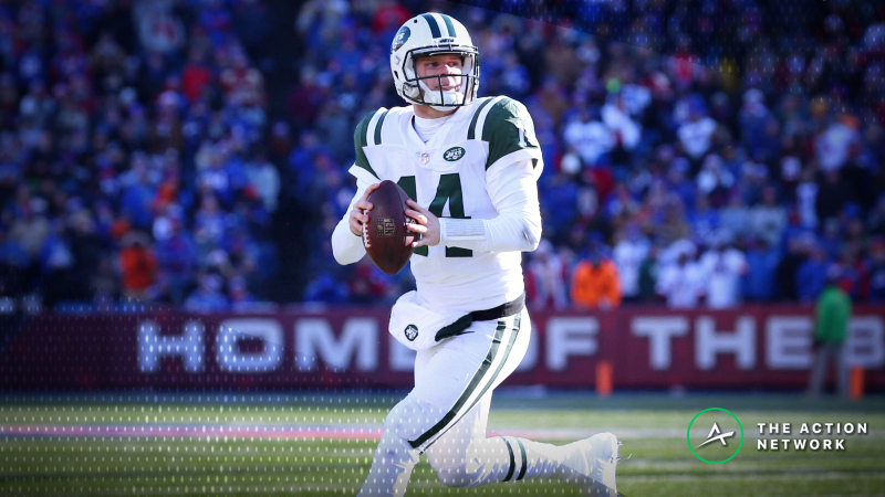 Best Saturday NFL Player Props: Sam Darnold Over/Under 7.5 Rushing Yards? article feature image