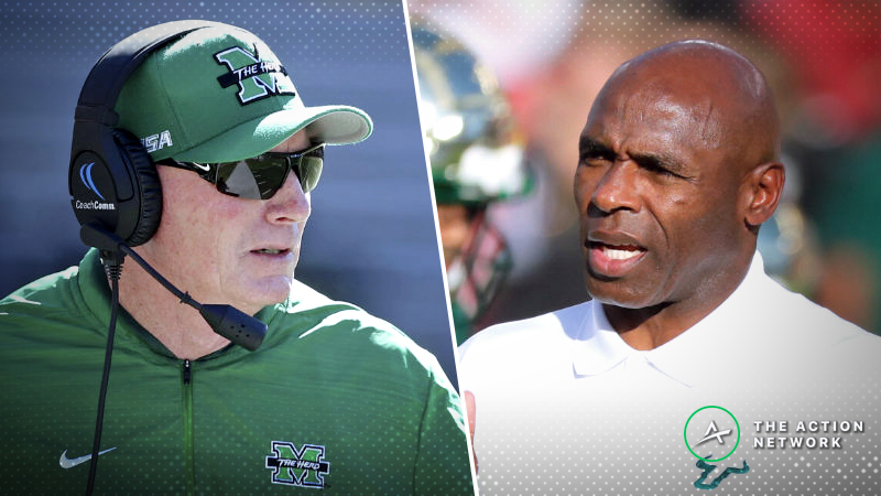 USF-Marshall Betting Guide: Can Slumping Bulls Rebound in 2018 Gasparilla Bowl? article feature image