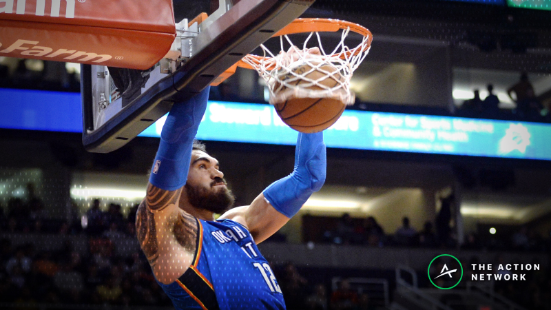 Friday's Best NBA Player Props: Betting Steven Adams Points, More article feature image