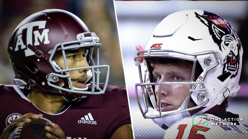 Texas A&M-N.C. State Betting Guide: Offenses May Go Pass-Heavy in Gator Bowl 2018 article feature image