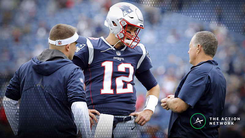 Patriots-Dolphins Betting Preview: Weather Could Loom Large in Miami article feature image