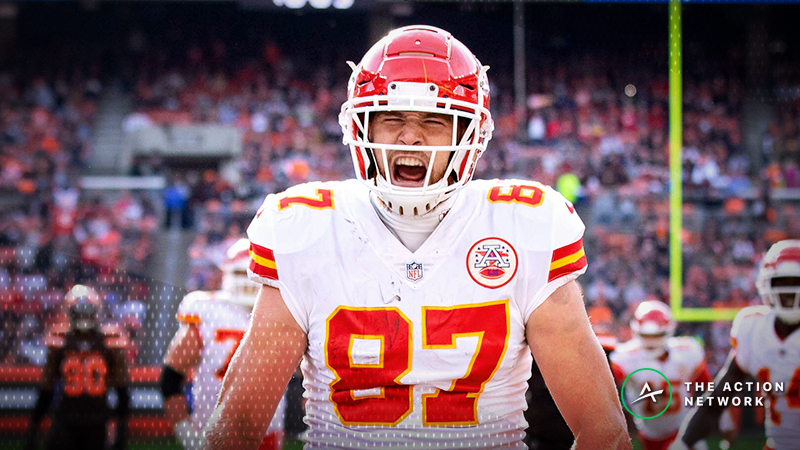 Travis Kelce Is Having a Historic Fantasy Season for a Tight End article feature image