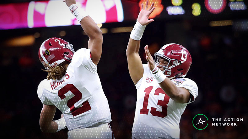 College Football Playoff Betting Picks: Our Staff's Favorite Bets for Notre Dame-Clemson, Oklahoma-Alabama article feature image