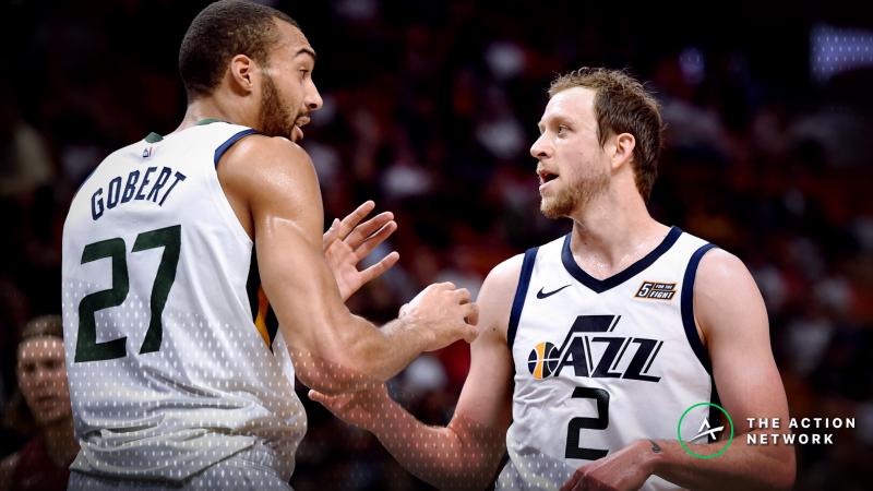 Sharp Money Driving San Antonio Spurs-Utah Jazz Line Movement article feature image