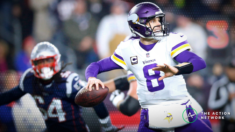 Best Vikings-Seahawks MNF Player Props: Kirk Cousins Over/Under 299.5 Passing Yards? article feature image
