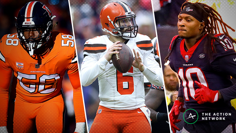 NFL Saturday Betting Guide: All You Need to Know for Texans-Jets, Browns-Broncos article feature image
