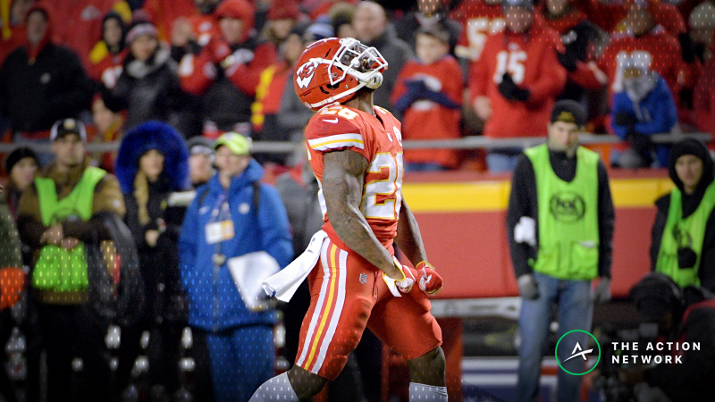 Fantasy Football Start or Sit: Damien Williams Is Still the Chiefs RB to Play article feature image