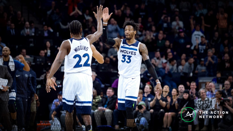 NBA Sharp Report: Wolves-Warriors Among 3 Games Attracting Wiseguy Action article feature image